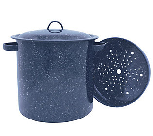 Granite Ware 15.5 qt Tamale Pot withSteaming