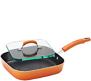 Rachael Ray Porcelain II Nonstick 11 Square Deep Griddle - K304458