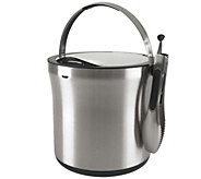 OXO Steel Ice Bucket & Tong Set - K305259
