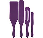 Mad Hungry 4 piece Multi-Use Silicone Spurtle Set - K46459