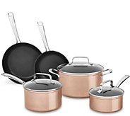 KitchenAid Hard Anodized Nonstick Cookware Set-Toffee Delight - K375361