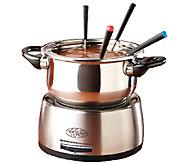 Nostalgia Electrics Stainless Steel Electric Fondue Pot - K299462