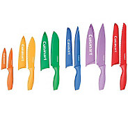 Cuisinart Advantage 12-pc Color Knife Set withBlade Guards - K302862