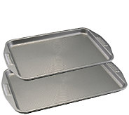Circulon Nonstick Bakeware Two-Piece Cookie Sheet Set - K304662