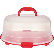 Lock & Lock Portable Cake Carrier with Handle Lid - K46162
