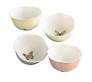 Lenox Butterfly Meadow Set of 4 Dessert Bowls - K123763