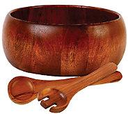 Gibson Home La Roda 3-Piece Acacia Wood Salad Set - K303963