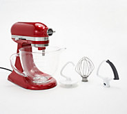 KitchenAid 3.5-qt Artisan Design Stand Mixer with Glass Bowl - K48363
