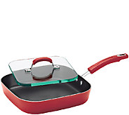Rachael Ray Hard Enamel Nonstick 11 Square Deep Griddle - K304464