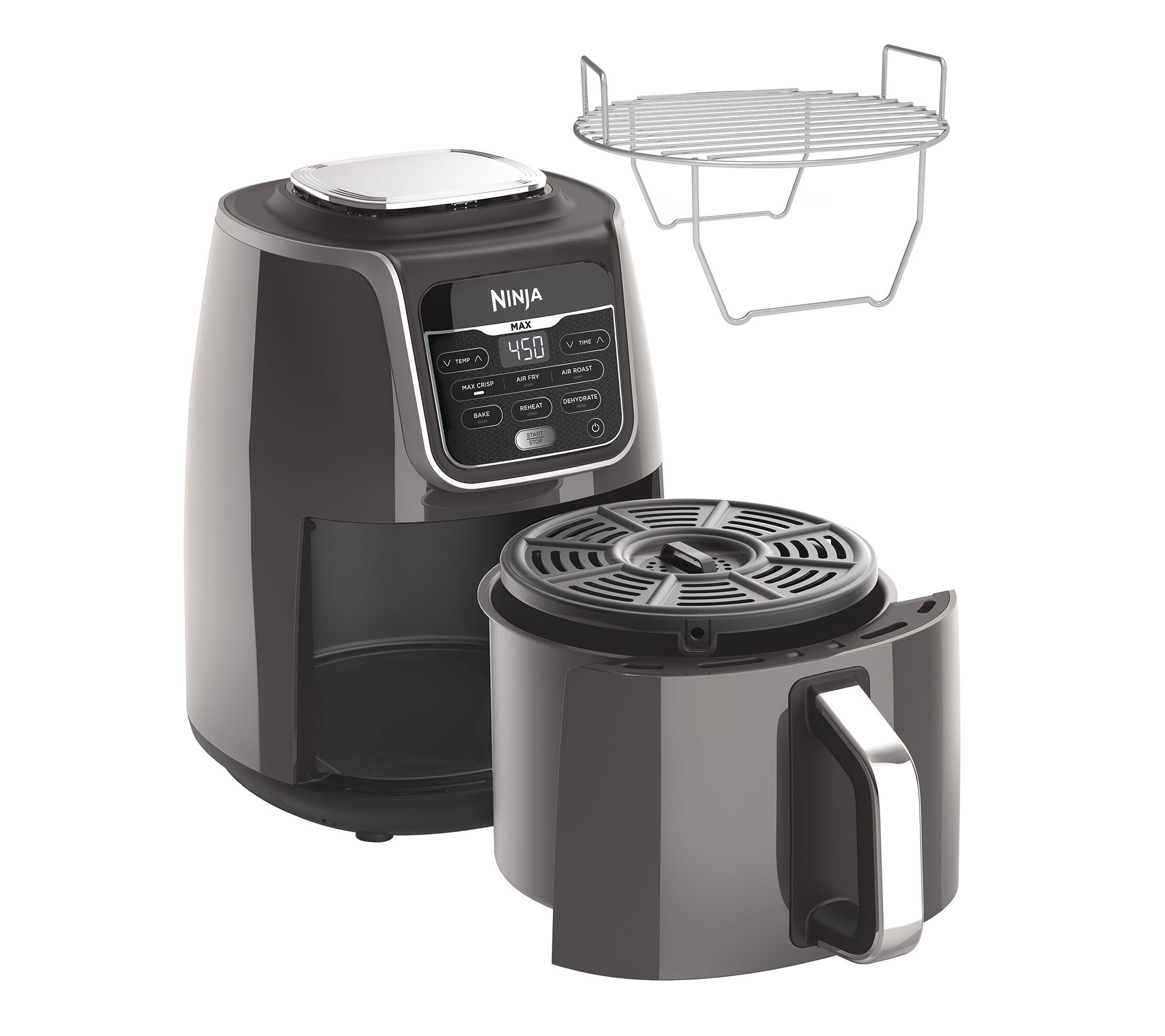 Ninja 5 5 Qt Air Fryer Max Xl With Maxcrisp Technology Qvc Com