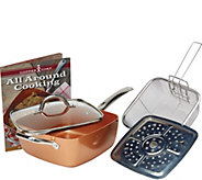 Copper Chef 9.5 5-Piece NonstickPan Set - K306565