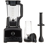 Ninja Chef High Speed Blender DUO w/ Single Serve Cup & Blade - K47065