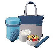 Zojirushi Insulated 2-Piece Lunch Jar with Tote Bag - K301166