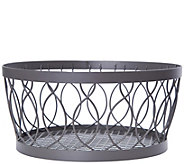 Gourmet Basics by Mikasa Rustic Farmstand Centerpiece Basket - K377966