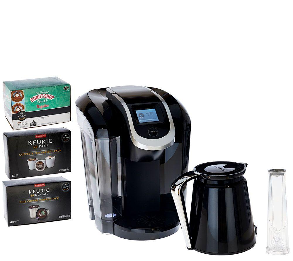 Keurig 20 K350 Coffee Maker W 24 K Cup Pods 4 K Carafe Pods