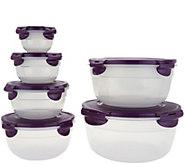 Lock & Lock 6 piece Nesting Bowl Set - K46166