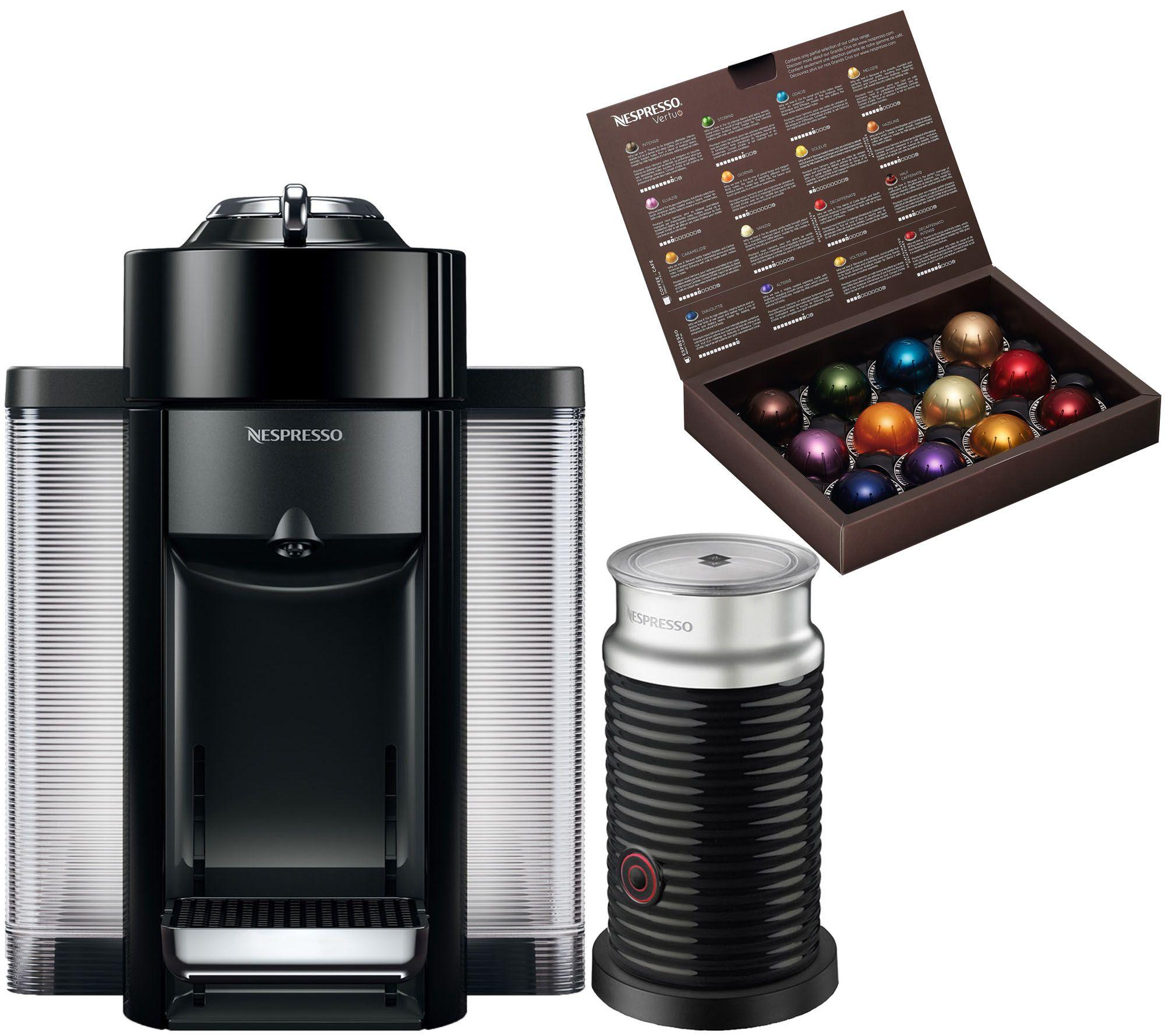 Nespresso Evoluo Coffee Machine W/ Milk Frother By