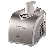 Espressione Gran Gelato Metal Compressor Ice Cream Maker - K376267
