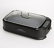 Power Smokeless Indoor Electric 1500W Grill w/ Griddle Plate - K48367