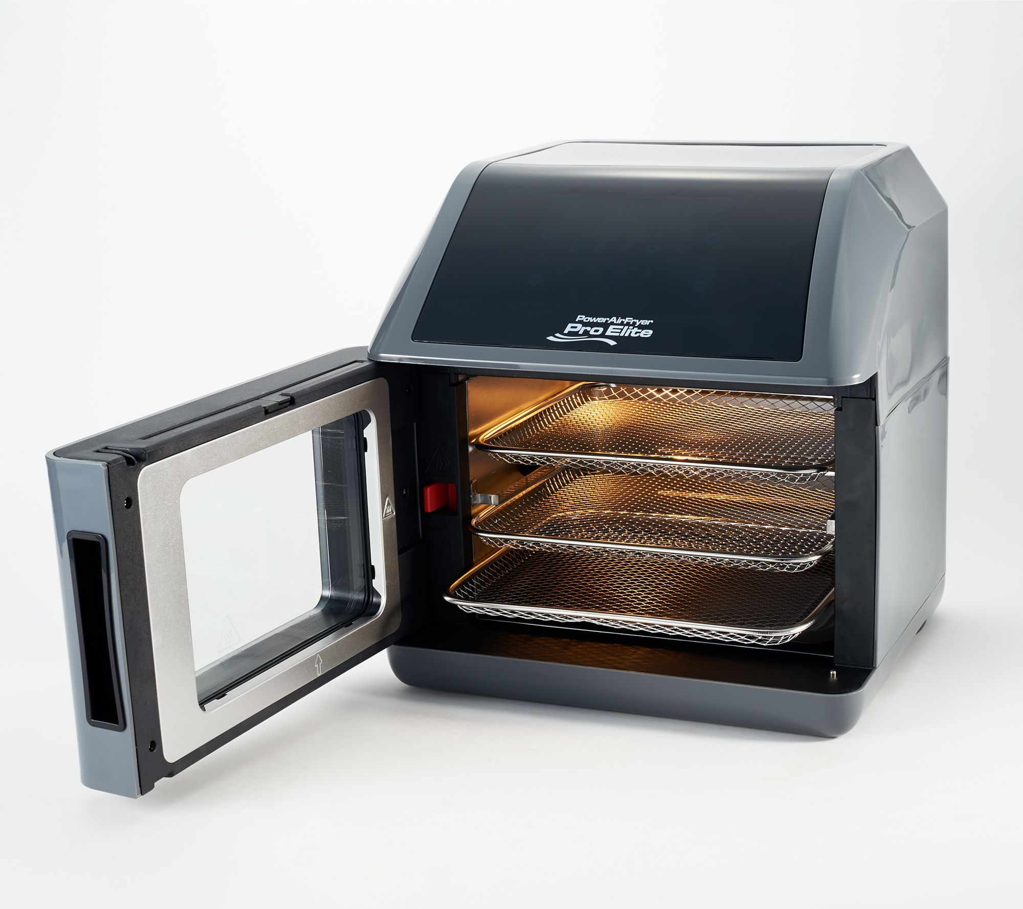 Powerxl 6 Qt Air Fryer 10 In 1 Pro Elite Oven W Book Qvc Com