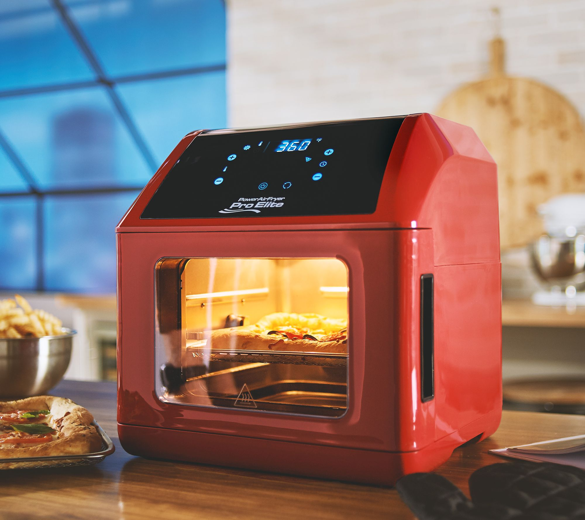 Power Air Fryer 10-in-1 Pro Elite Oven 6-qt with Cookbook — QVC com