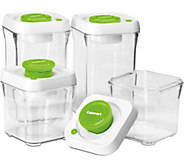 Cuisinart 8-pc Vacuum-Seal Food Storage Container Set - K302868