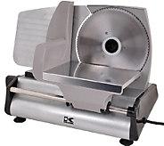 Kalorik Silvertone Professional-Style Food Slicer - K303368