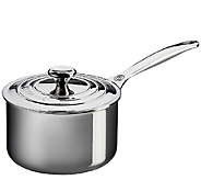 Le Creuset Stainless Steel 2-qt Saucepan with Lid - K303568