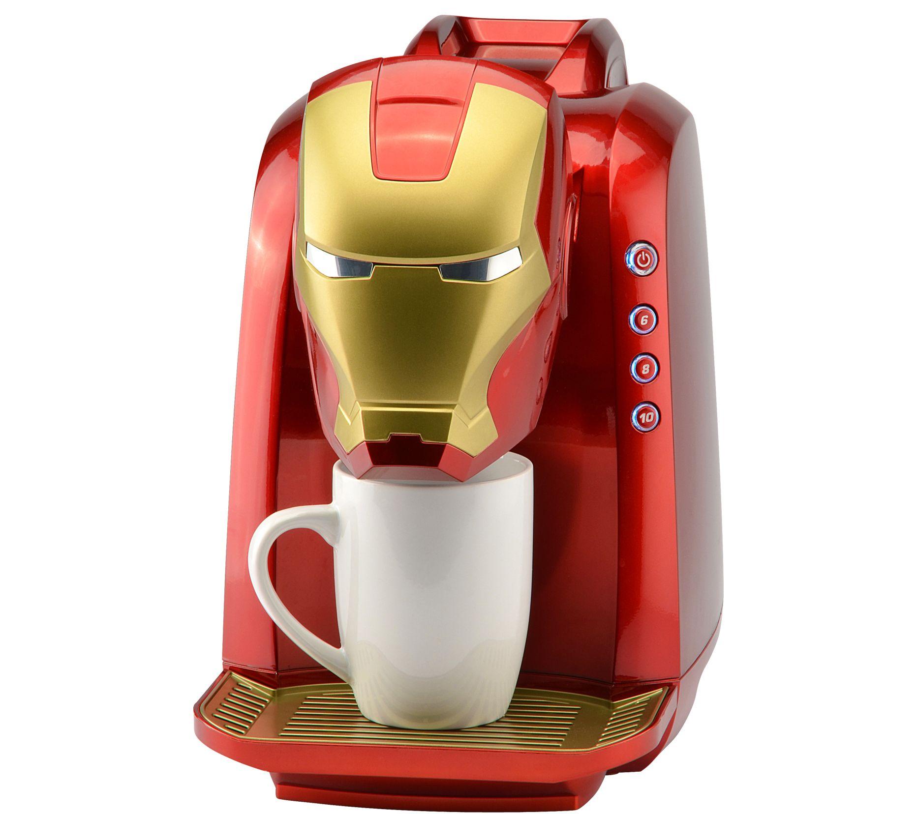 f3b891d3840be Marvel Iron Man Single-Serve Coffee Maker — QVC.com