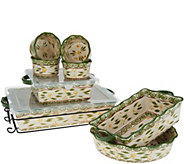 Temp-tations Old World 9-Piece Bake Set - K46968