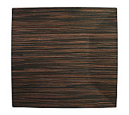 Charge It! by Jay Faux-Wood Square Charger Plates - K297470