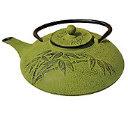Old Dutch Moss Green Cast Iron 26-oz Teapot - K301070