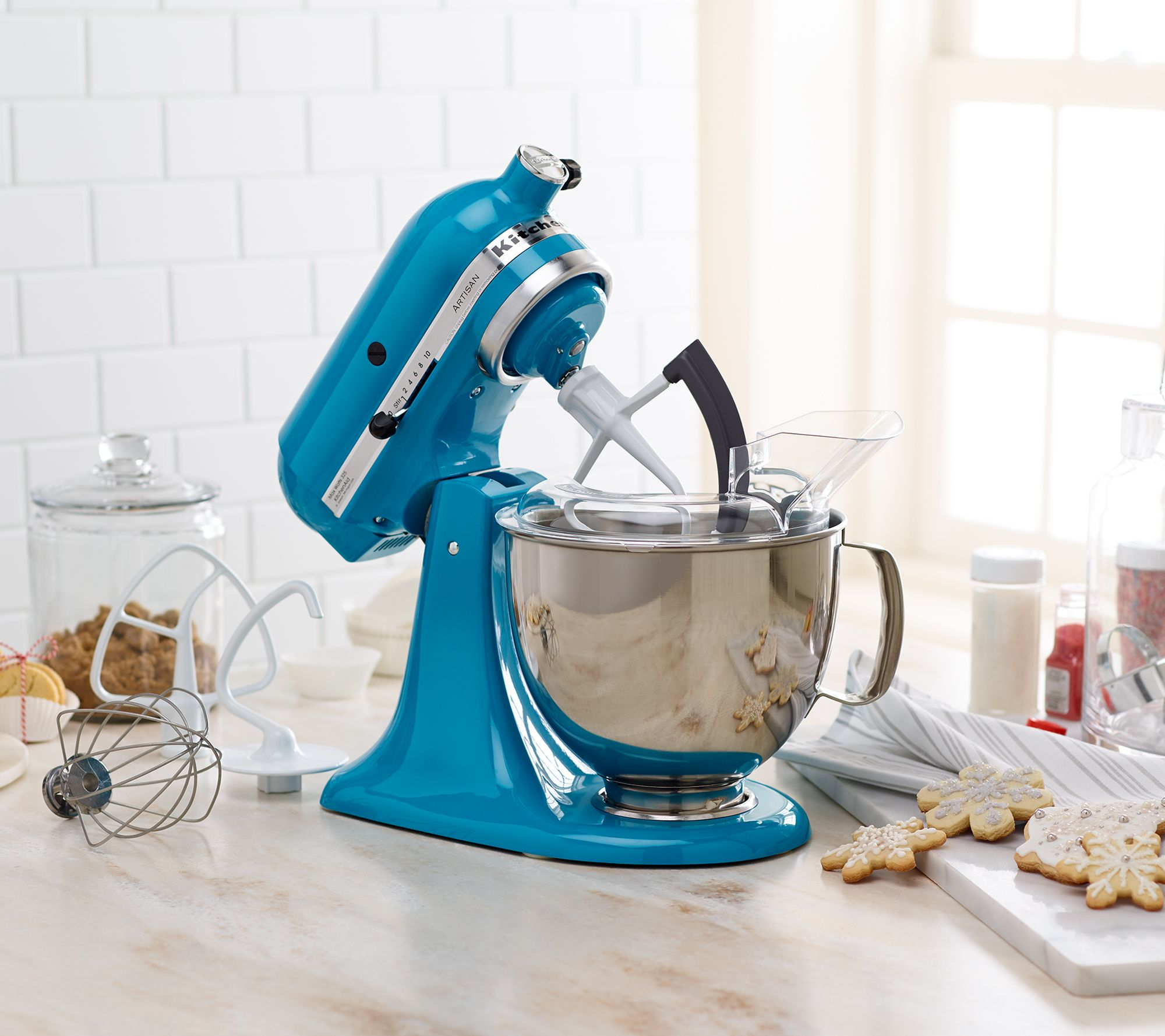 KitchenAid 5-qt 325W Tilt Head Stand Mixer with Flex Edge - Page 1 ...