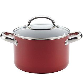 Farberware Buena Cocina 4-Qt Aluminum NonstickSoup Pot