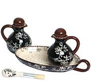 Temp-tations Floral Lace Oil & Vinegar Set - K377371