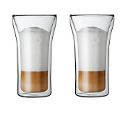 Bodum Assam Set of 2 Double Wall Glasses, 13.5oz - K297672
