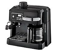 DeLonghi 3-in-1 Coffee Machine w/ Programmable Timer - K301473