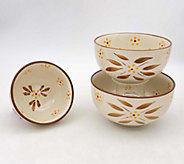 Temp-tations Old World Set of 3 Nested Prep Bowls - K377373
