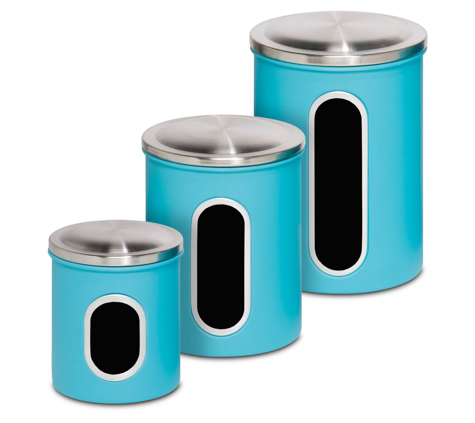 Honey-Can-Do Set of 3 Nested Kitchen Storage Canisters — QVC.com