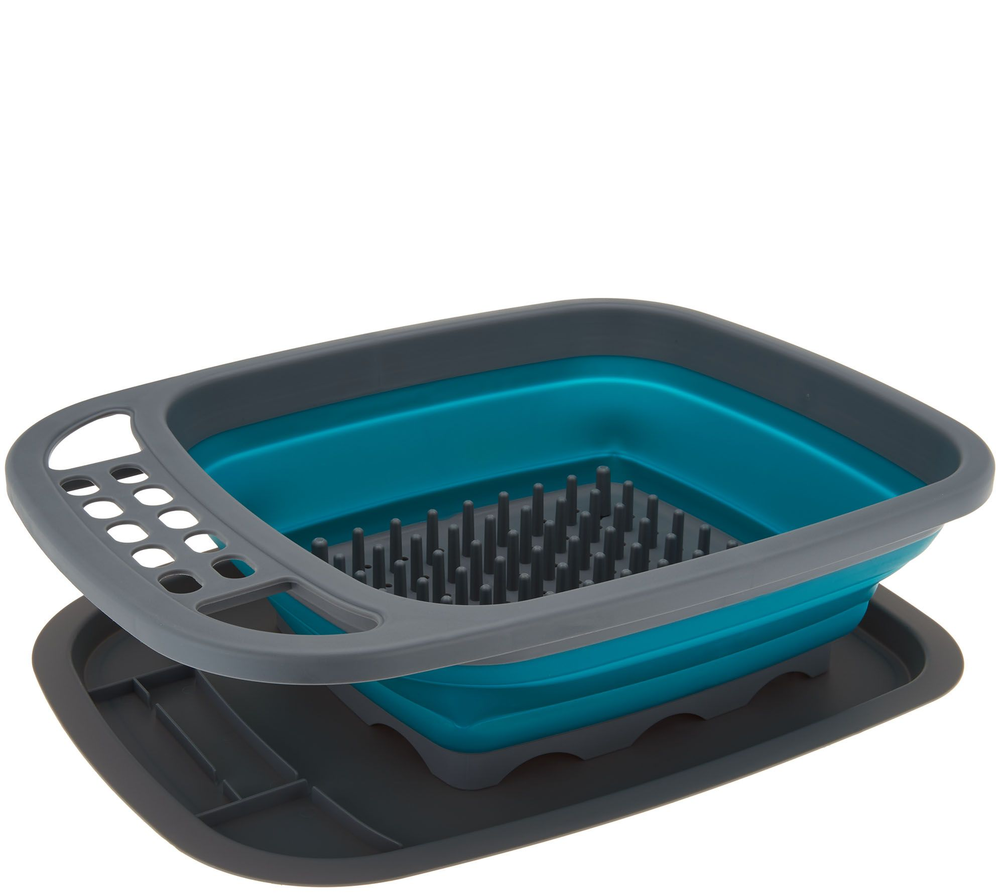 Cook\'s Essentials Collapsible Dish Rack with Drip Tray - Page 1 ...