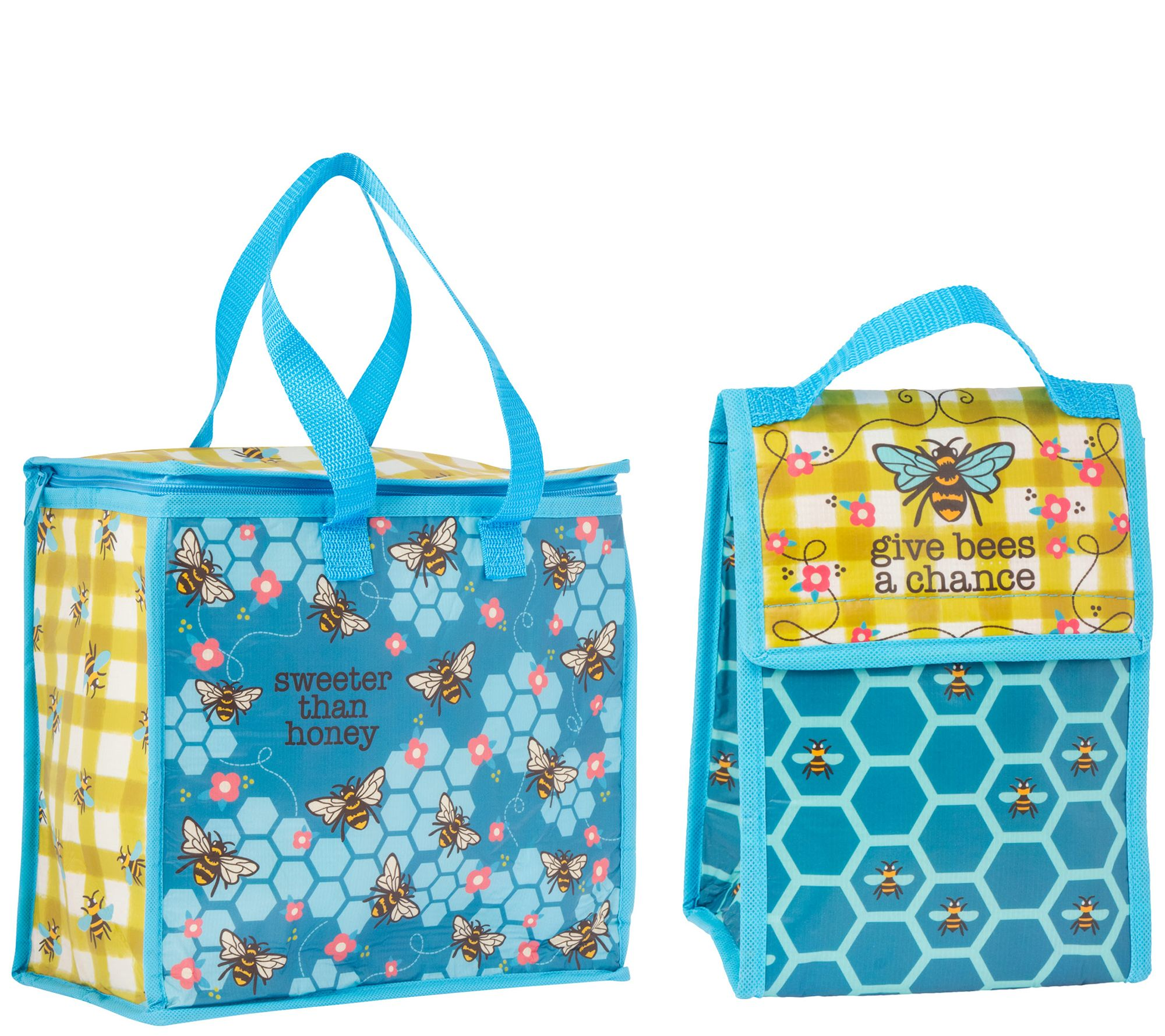 77214f960749 Karma Gifts Bee Cooler Bag and Lunch Sack — QVC.com
