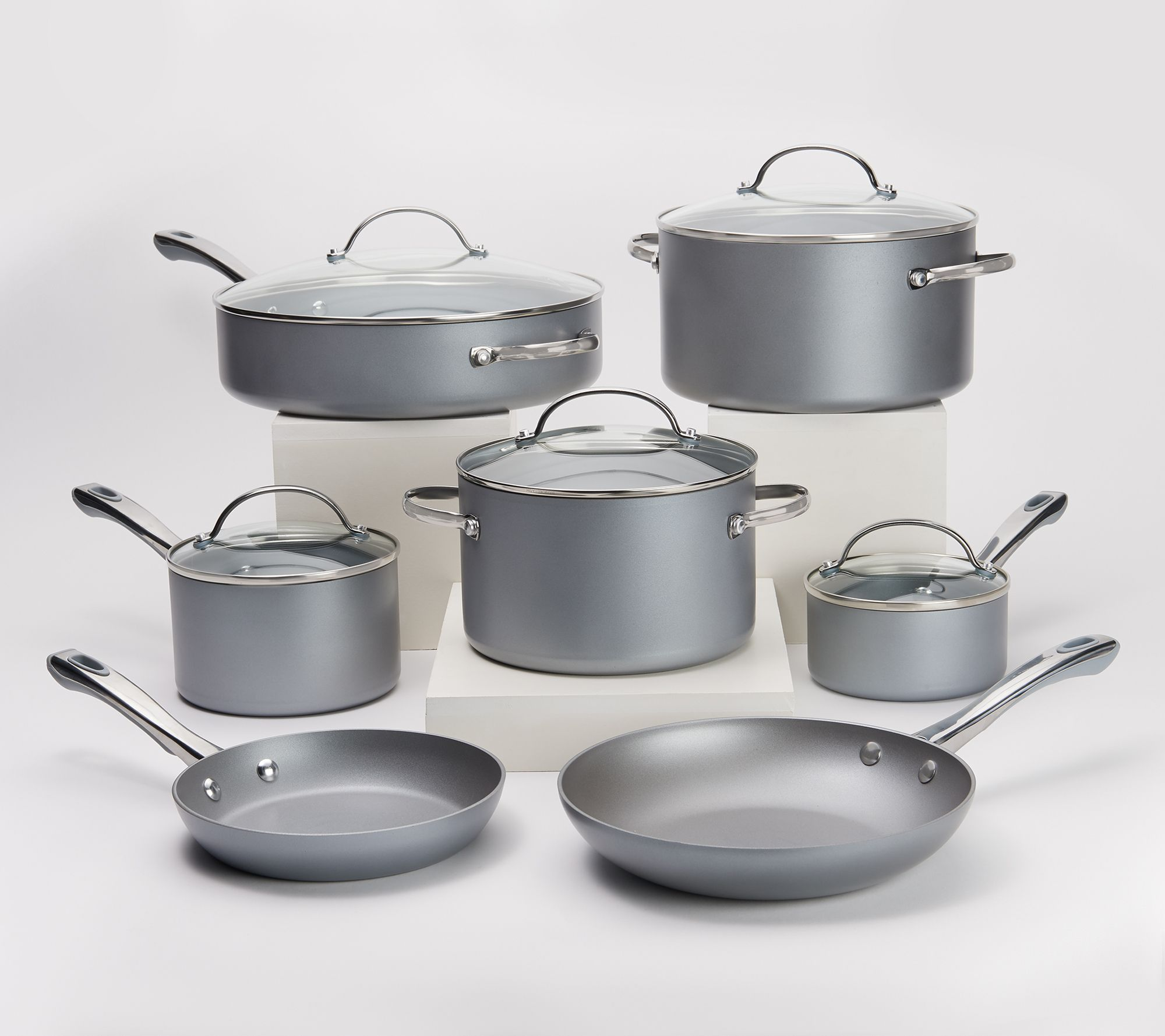 12 Piece Chroma Glide Cookware Set