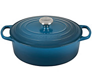 Le Creuset Signature Series 5-Qt Oval Dutch Ove  n - K299176