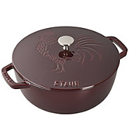 Staub Cast-Iron 3.75-qt Essential French Oven Rooster Lid - K378276