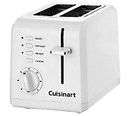 Cuisinart 2-Slice Compact Plastic Toaster - White - K301677