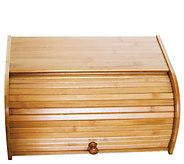 Lipper Bamboo Roll-Top Bread Box - K379377