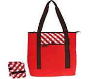 Rachael Ray Shopping Solution Set w/ Insulated Tote & Market Bags - K46877