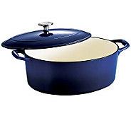 Tramontina Gourmet Enameled Cast-Iron 7-qt OvalDutch Oven - K300778
