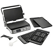 DeLonghi Livenza All-Day Countertop Grill withWaffle Plates - K378778