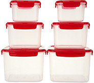 Lock & Lock 6-Piece Square Storage Set - K46578